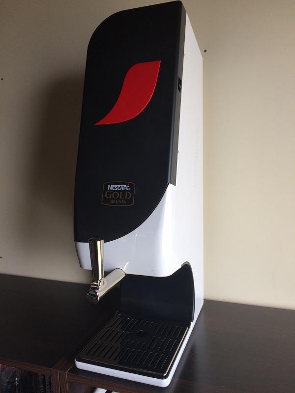 ネスレのアイスコーヒーサーバー設置